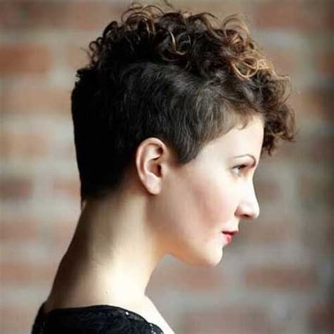 pixie cut curly hair round face 50 best curly pixie cut ideas that flatter your face shape