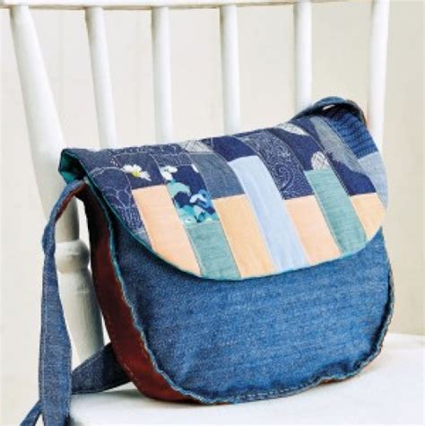 Denim Patchwork Bag Patterns Free - patchwork denim bag free sewing patterns sew magazine