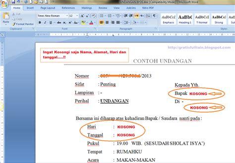 cara membuat surat undangan di ms word 2007 bagaimana cara membuat surat undangan dengan mail merge