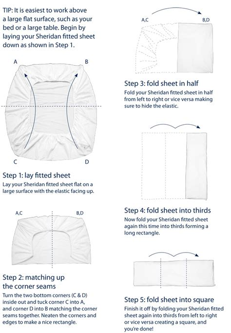 how to fold a fitted sheet trusper