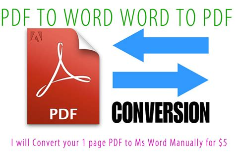 convert pdf to word ms word i will convert your 1 page pdf to ms word manually for for