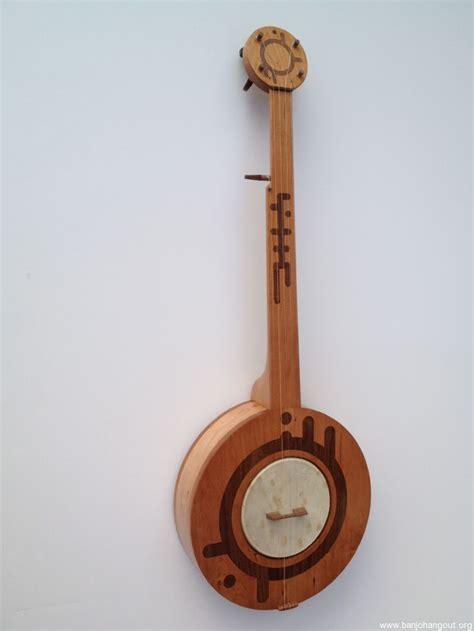 Handcrafted Banjo - 5 string sci fi banjo fretless handmade 545 used