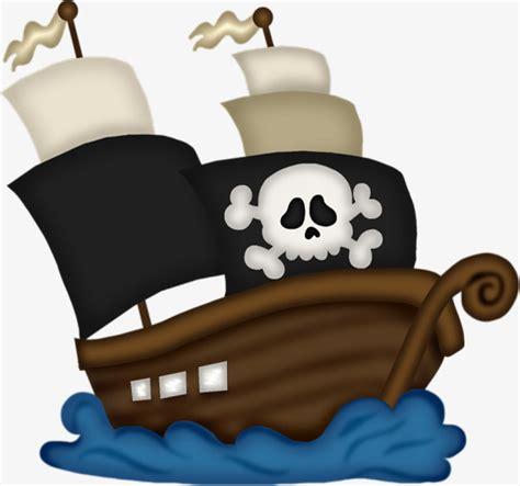 dibujo barco con olas dibujos animados de barco pirata vela esqueleto olas