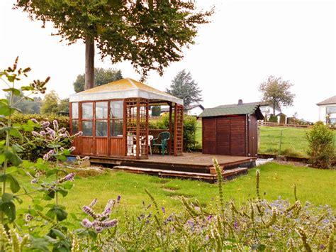 garten mit pavillon ferienhaus quot heideblick quot sauerland arnsberger wald