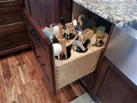 kitchen utensil storage ideas wow 16 smart kitchen storage ideas you must see