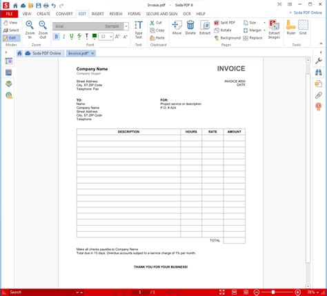 create a invoice template why you should switch to pdf invoices
