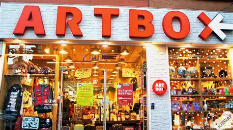 kpop theme shop artbox in hongdae icosnap cute travel blog