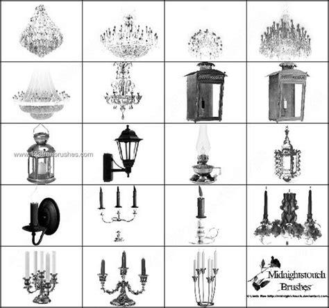 chandelier photoshop brushes chandelier lantern candelabra l photoshop brush