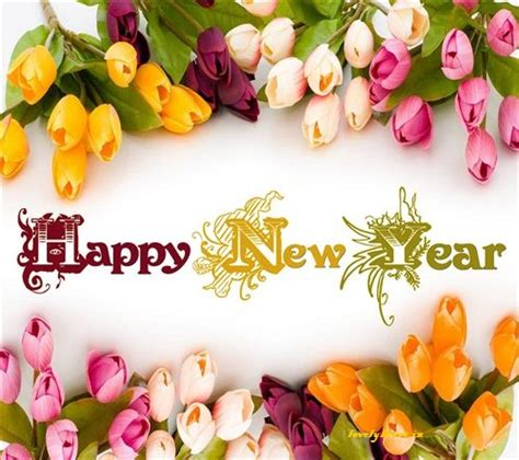 new year flowers happy new year 2016 images images naya saal