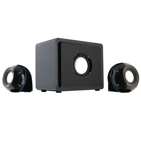 gpx 2 1 channel home theater speaker system ht12b the