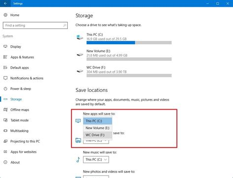 install windows 10 separate partition how to install apps on a separate drive on windows 10
