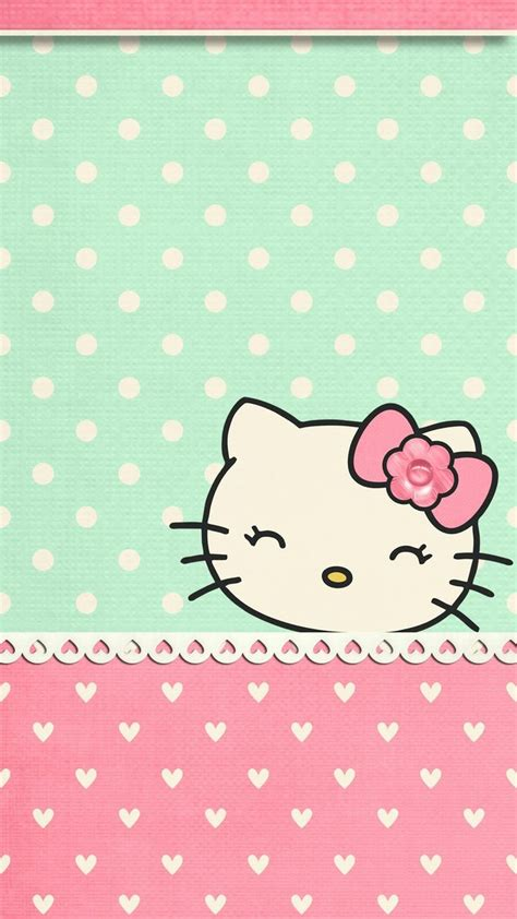 wallpaper iphone 6 kitty iphone wall hk tjn cute pinterest hello kitty