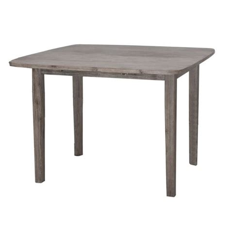 Gray Kitchen Table by Dining Table In Driftwood Gray Wire Brush 71036