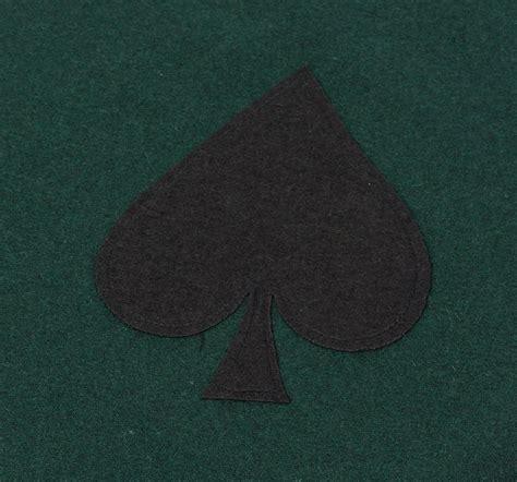card table felt fabric bridge poker card game tablecloth casino gaming night
