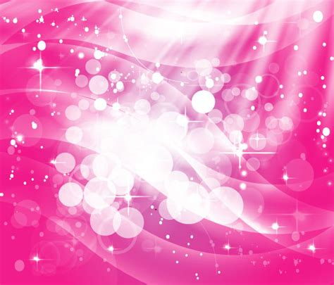 girly wallpaper ai pink shinning stars free vector in adobe illustrator ai