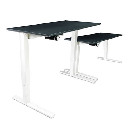 Humanscale Float Height Adjustable Sit Stand Desk Black Humanscale Sit Stand Desk