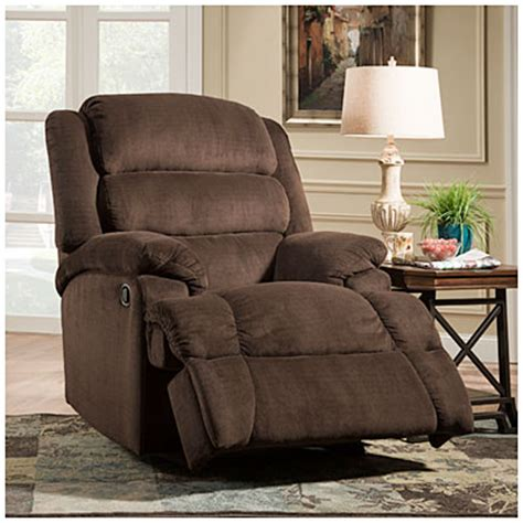 stratolounger the big one nimbus umber recliner stratolounger 174 samson chocolate big one recliner big lots