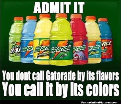 gatorade flavors and colors images