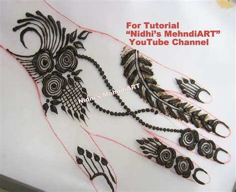 tattoo design tutorial simple feather henna www pixshark images galleries