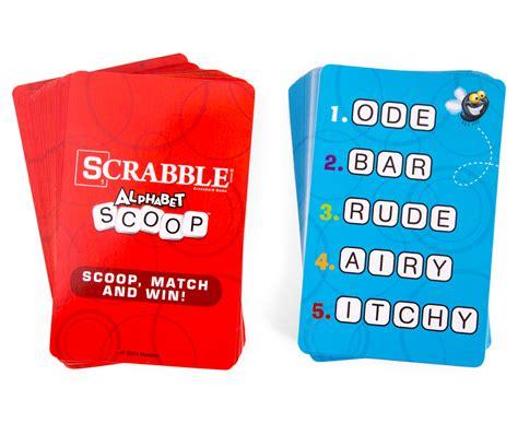 scrabble scoop hasbro scrabble alphabet scoop great daily deals at