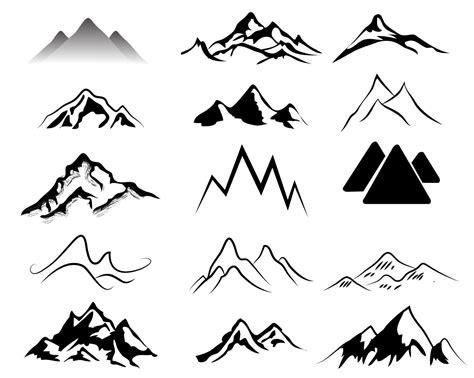 mountain clipart mountain black and white ideas about mountain clipart on