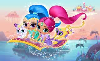 nickalive nickelodeon usa unveils magical quot shimmer shine quot videos brand animated