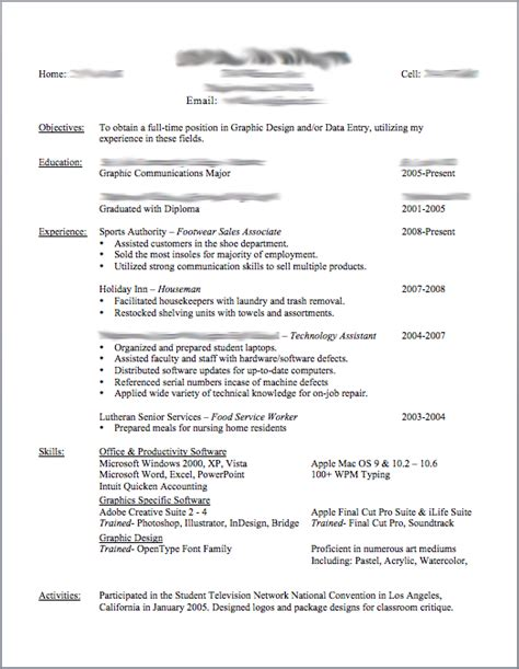 great objectives for resumes best photos of resume templates resume