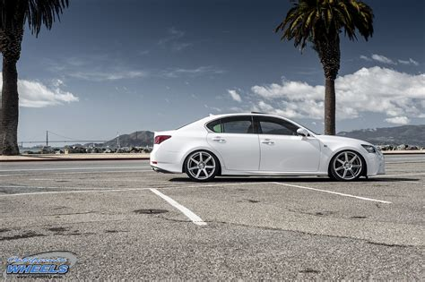 lexus vossen car lexus gs 350 on vossen cv7 wheels california wheels