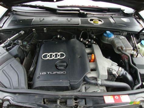 audi a4 2002 engine 2002 audi a4 1 8t sedan 1 8l turbocharged dohc 20v 4