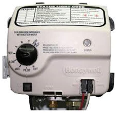 water heater gas valve failure honeywell gas valve troubleshooting for water heaters