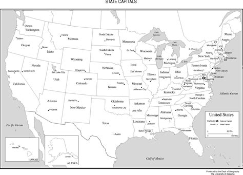 usa white map us state map black and white travel maps and major
