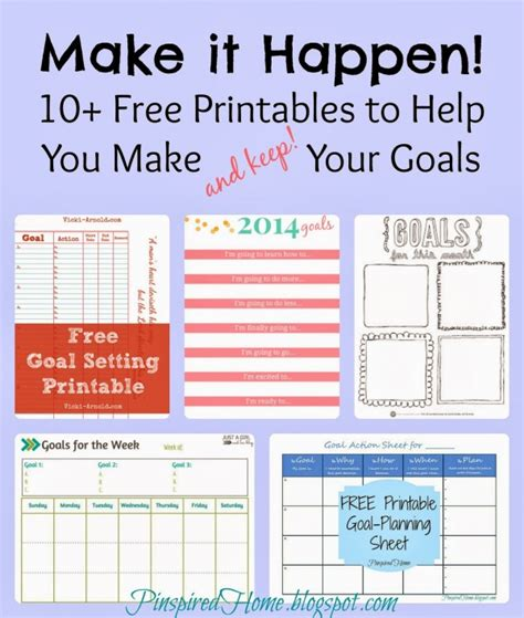 goal setting worksheet 8 free brilliant designs 8 best images of goal setting printables printable goal