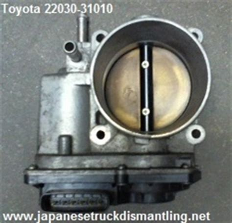 electronic throttle control 1998 toyota tacoma transmission control toyota 4runner tundra tacoma throttle body 4 0l 22030 0p010