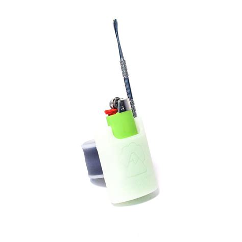 Hsc Detox by Hsc Slappack Silicone Lighter Holster Glow The Bong Shop