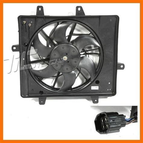 pt cruiser fan motor buy 2006 2010 pt cruiser limited touring cooling radiator