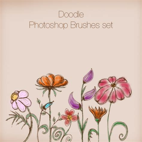 doodle photoshop mega pack photoshop brushes graphics illustrations