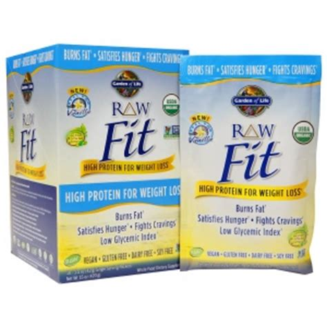 Garden Of Fit Vanilla Garden Of Fit High Protein For Weight Loss