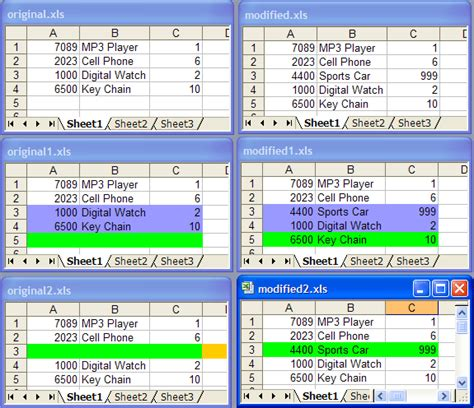 Microsoft Excel Compare Worksheets by Compare Excel Worksheets