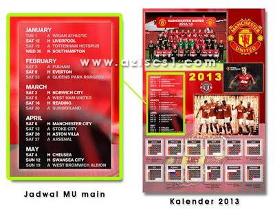 desain kalender a4 desain kalender 2013 untuk fans manchester united blog