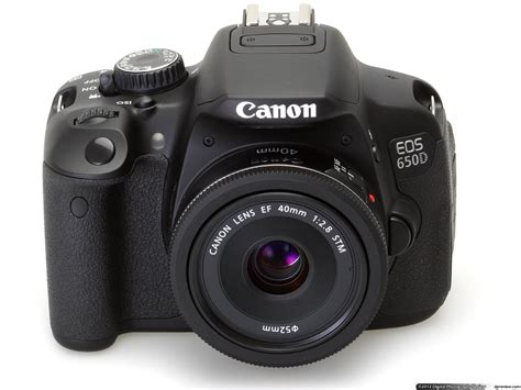 Kamera Canon Rebel T4i canon eos 650d rebel t4i in depth review digital photography review