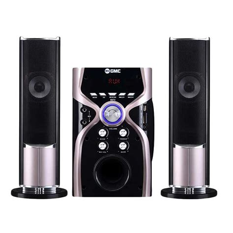 Speaker Aktif Bluetooth Radio gmc multimedia speaker 885t speaker aktif 2 1ch bluetooth connection gold ezyhero