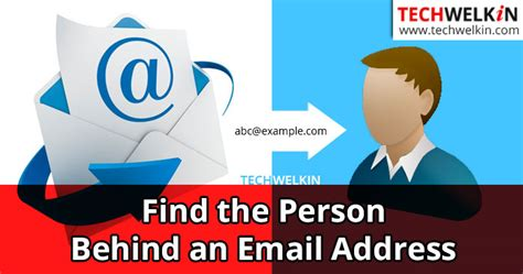 Search A Person By Email Id Cari Orang Dibalik Alamat Email