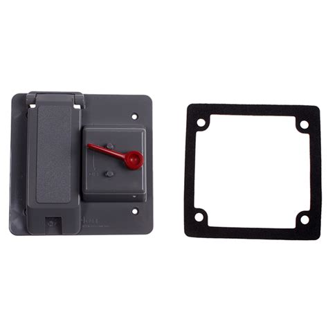 duplex receptacle cover light switch combo hog slat
