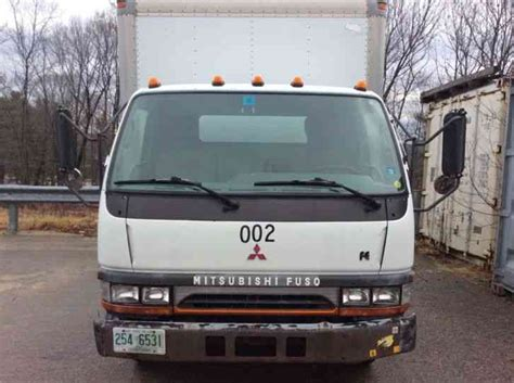 mitsubishi truck 2000 mitsubishi fe639 box truck 2000 box trucks