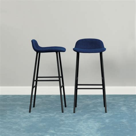 Tabouret De Bar Bleu by Tabouret Bar Form Normann Copenhagen Trentotto
