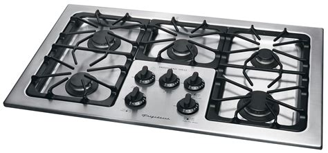 36 Gas Cooktop Frigidaire Plgc36s9ec 36 In Gas Cooktop With Sealed