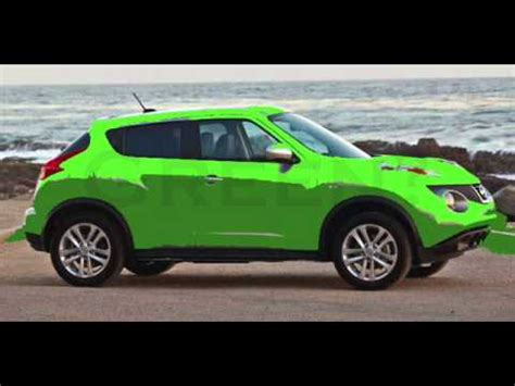 green nissan juke nissan juke colors green yellow youtube