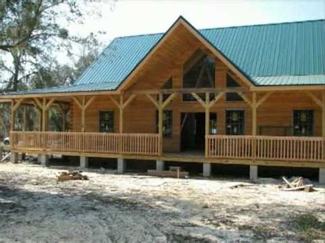 florida cracker style homes cracker style log homes tucker youtube