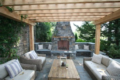 patios with pergolas fireplace patio pergola