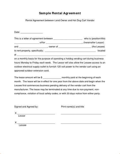 Agreement Letter Between Tenant And Landlord Sle Of Lease Termination Agreement Letter Template With Particulars Draft Format Also